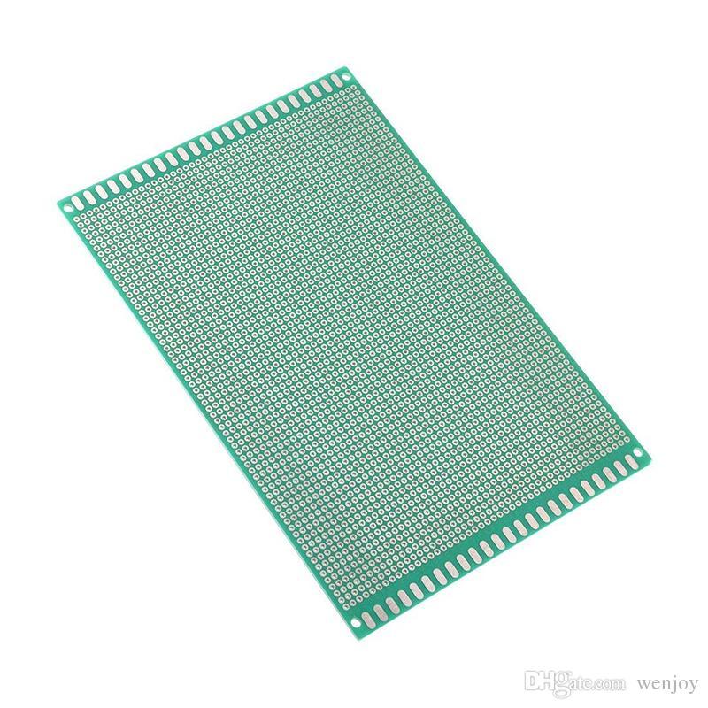 2020 مجموعة جديدة من الدوائر الإلكترونية الألواح 20 × 30 سم PCB فارغ اللوح العالمي DIY الصورة الضوئية مجلس ضعف الجانب