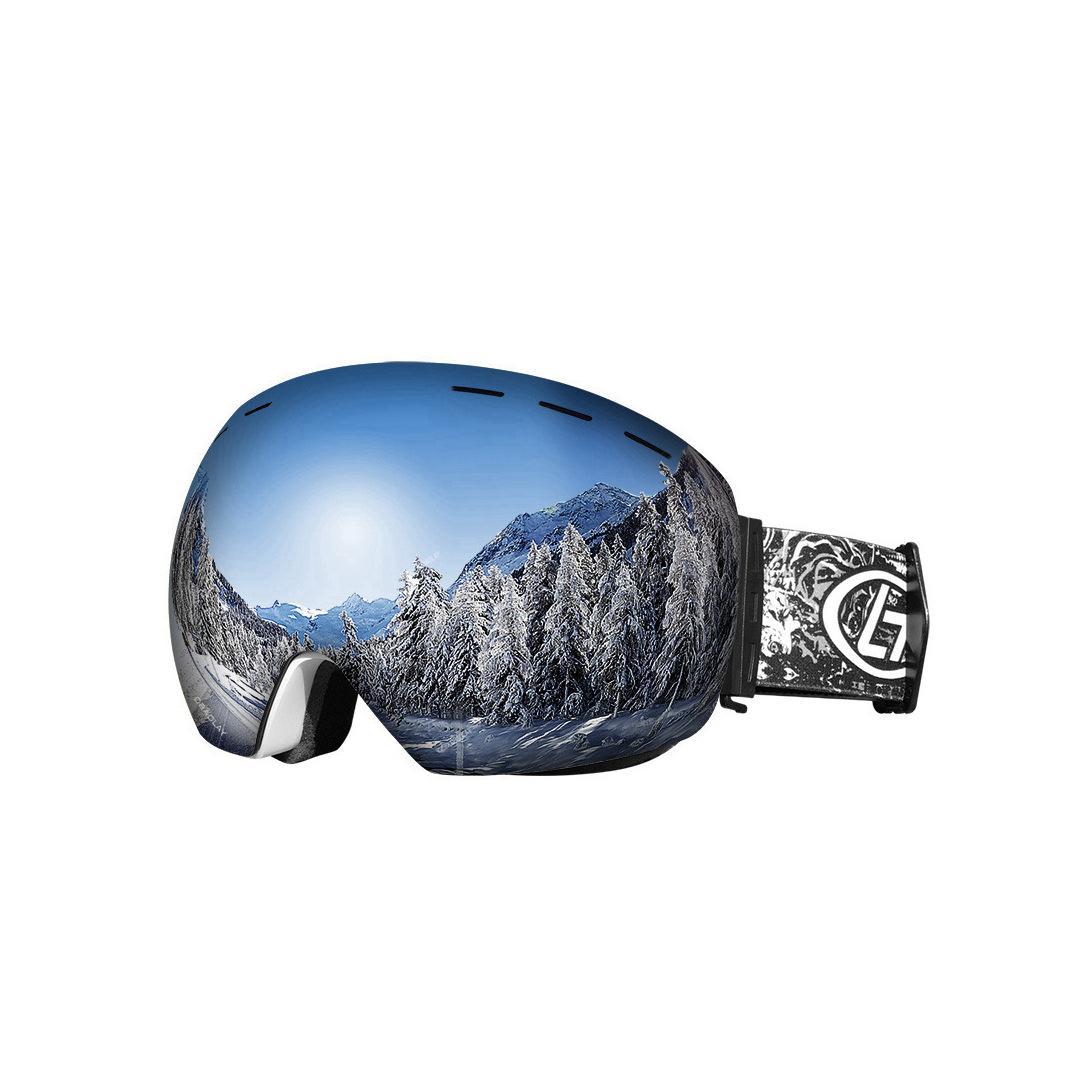Горячий продавая лыжные очки Мужчины Женщины сноуборде очки очки для катания UV400 защиты снег лыжи очки противотуманным Ski Mask 2020