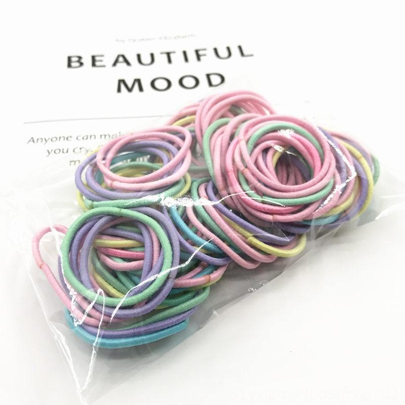 100 children's accessories do not hurt the do not wrap the baby's rubber band hair rubber band girl's hair rope