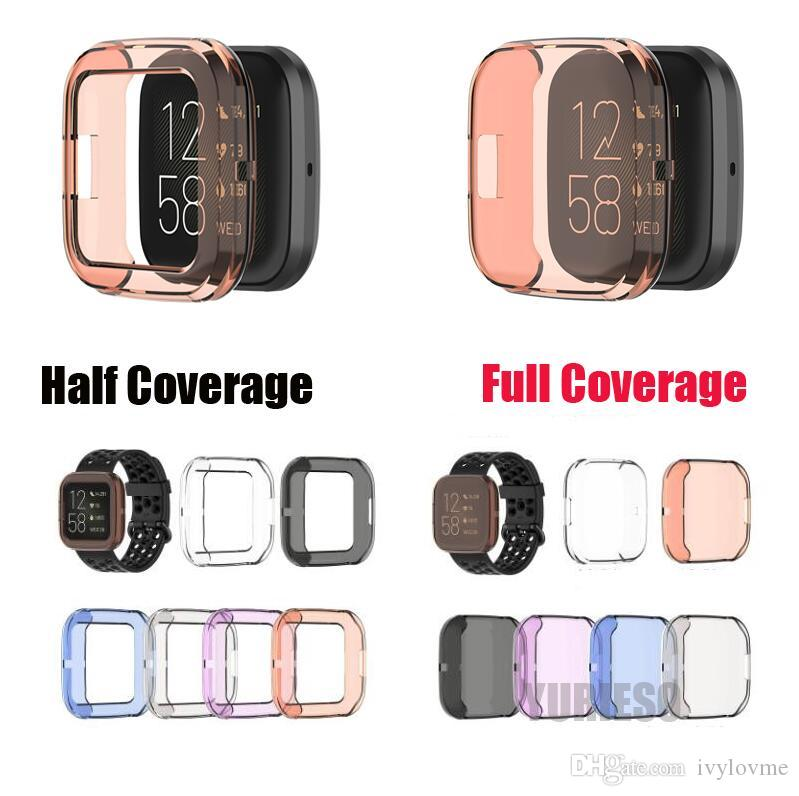 Replacement TPU Screen Protective Cases for Fitbit Alta HR// Fitbit Charge 2//3