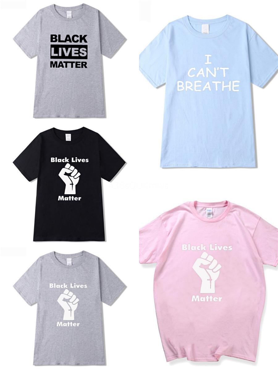 Я не могу дышать мужские! Дизайнер футболки New Summer Basic Solid T-Shirt Off Мужчины Мода Вышивка Череп Футболка Мужской высокое качество 100% Cotto # 61