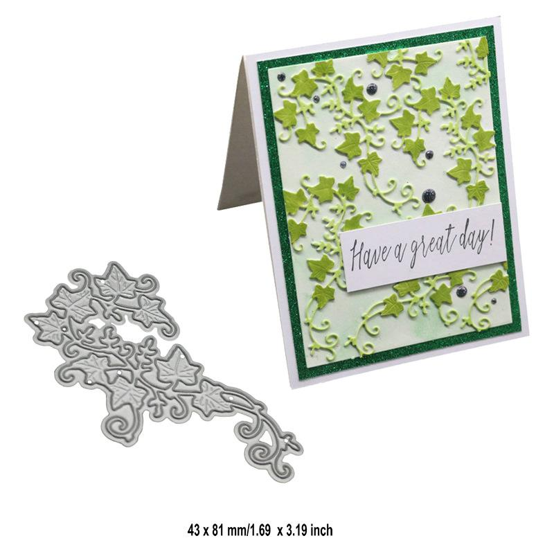 Leaves Lace Metal Cutting Dies Stencil DIY Scrapbooking Paper Embossing Craft