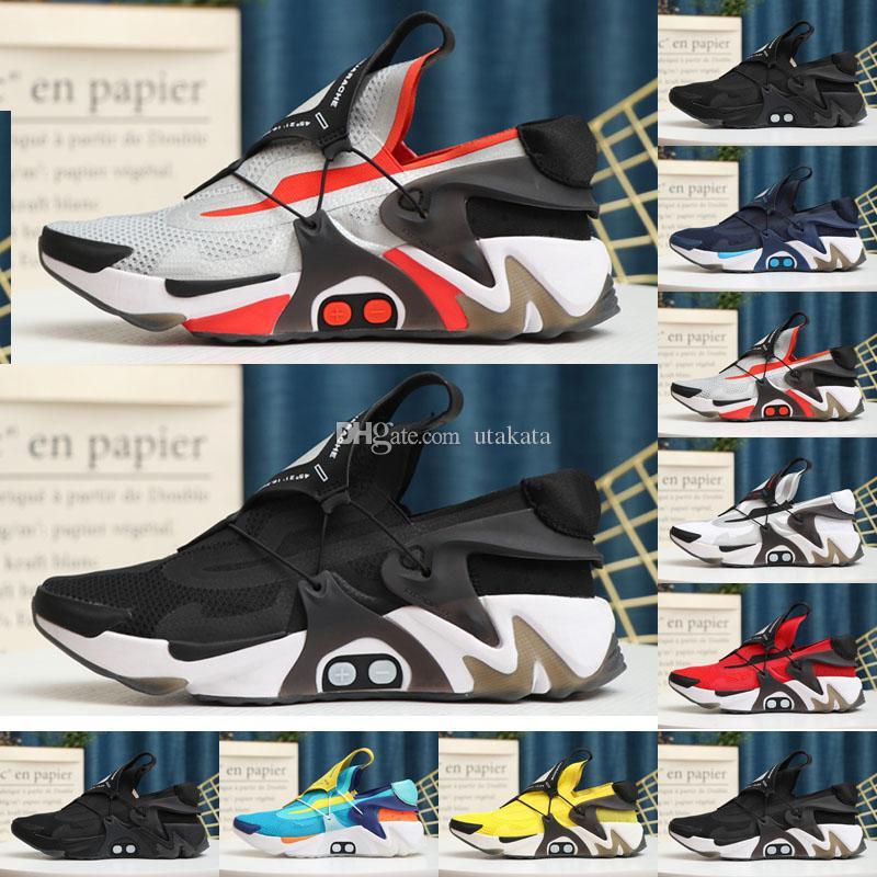2020 Adapty Huarache Racer Mavi Koşu Ayakkabıları Erkekler Donanma Siyah Beyaz Huaraches Sneakers Hurhaes Marka Hurla Sıracısı Eğitmenler Boyutu 40-45