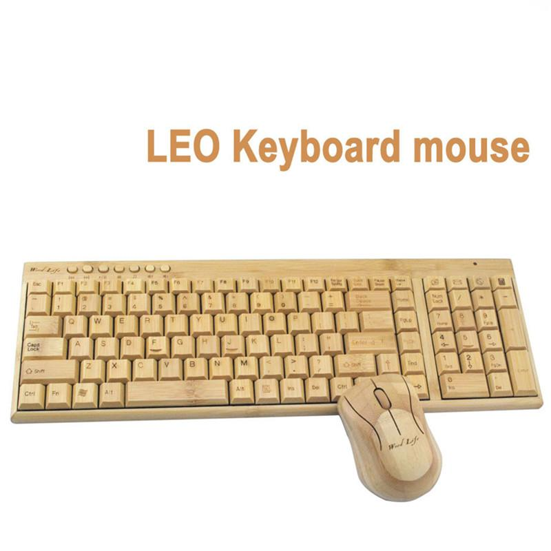 Os mais recentes 2.4G Wireless Gaming Keyboard Tamanho Mouse Set recarregável completa teclado sem fio e 1600dpi Gaming Mouse Para Laptop PC Computer
