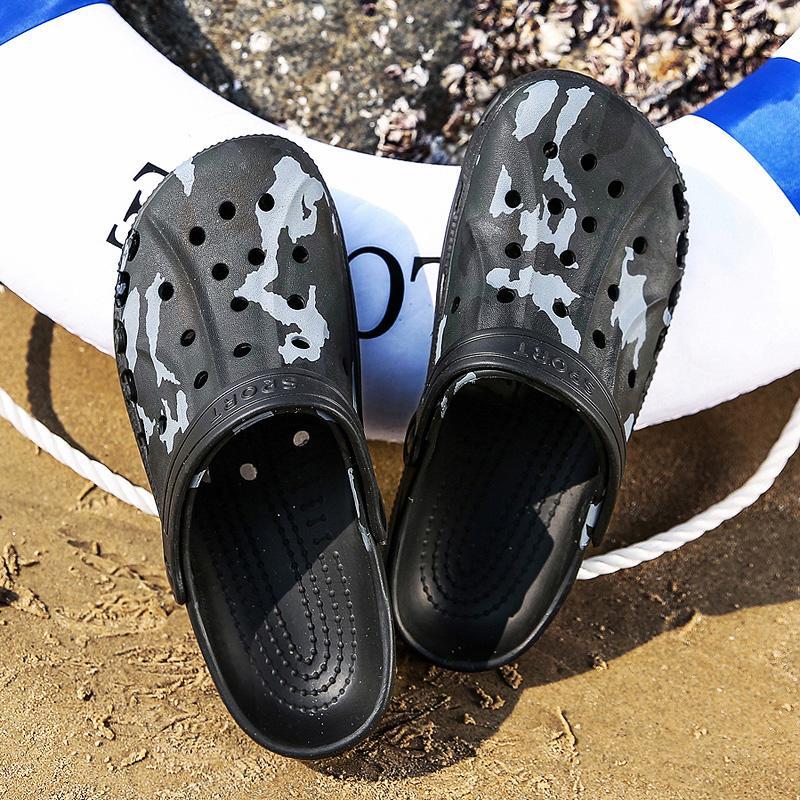 Оригинальный Классический башмаков сад Вьетнамки воды обувь Мужчины Летний пляж Аква Трусы Открытый носимого Новые сандалии обувь Садоводство