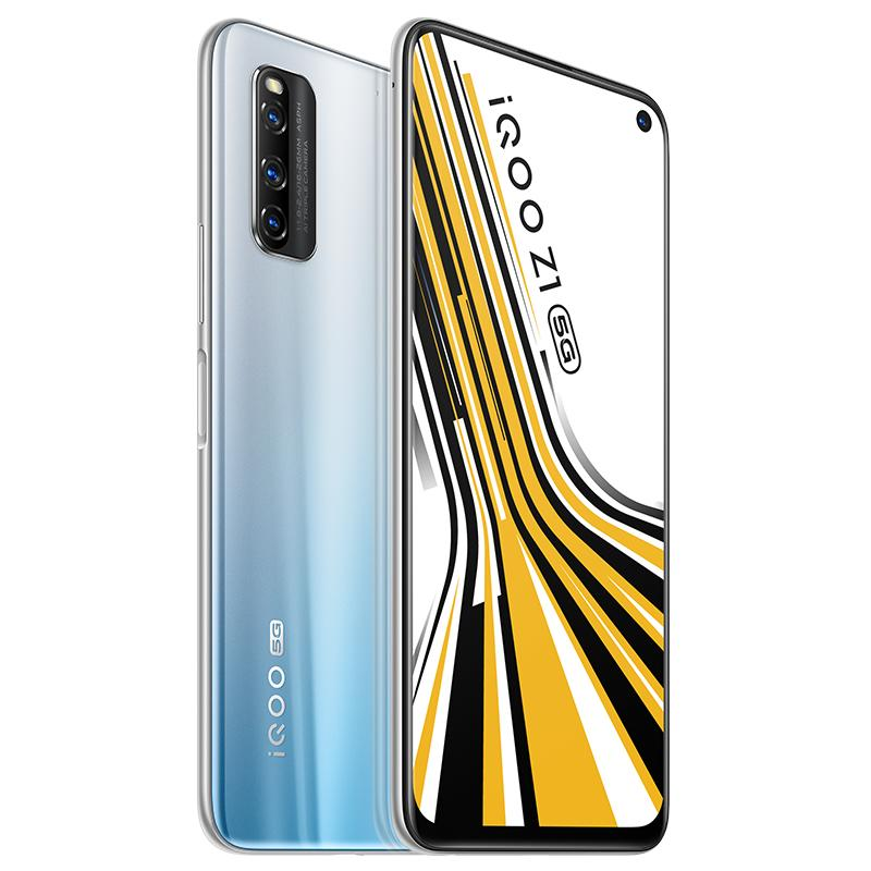 "Original VIVO iQOO Z1 5G LTE Handy 8 GB RAM 128 GB 256 GB ROM MTK 1000 Plus Octa Kernandroid 6,57"" Full Screen 48MP Face ID Handy"