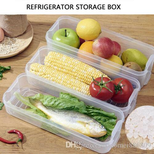 Fruit Organiser Food Storage Containers Rack Refrigerator Collecting Box