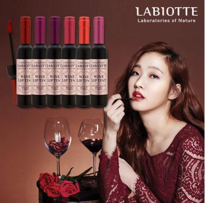 Makeup Liquid Lipsticks LABIOTTE Bottle Of Red Wine Lip Tint Branded Velvet Waterproof Long Lasting Lip Gloss 6 Colors