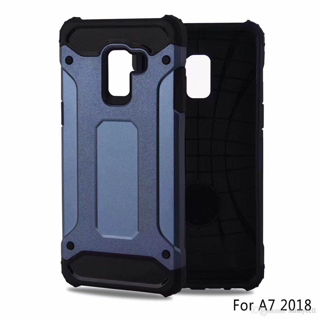 For Samsung Z2 C5 C7 C9 Pro ON5 ON7 2016 G530 Grand Soft TPU PC 2 In 1 Anti Fall Shockproof Protective Phone Cover Case