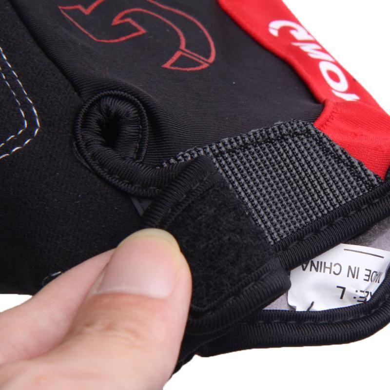 Велоспорт Мотоспорт Gel Половина пальцев перчатки Размер XL S-3 цвета