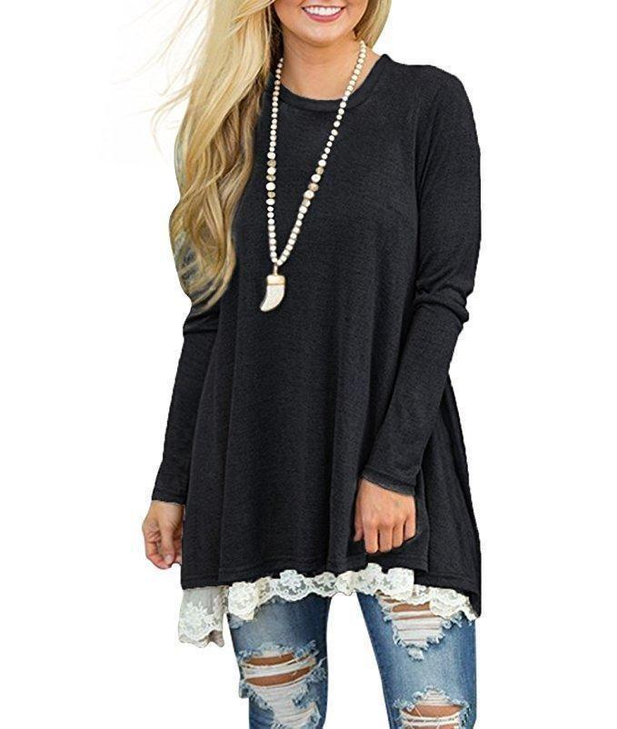 Wholesale 2018 Trend New Lace Spliced Large Size Women Clothes Urban Leisure Pendant Designer Dress Fashion Breathable Casual Dresses