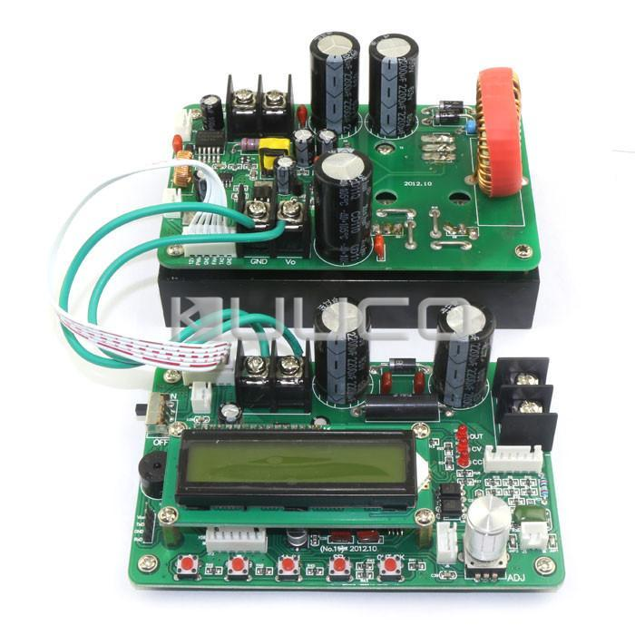 Freeshipping 1200W/20A CNC Programmable Intelligent Power Supply DC 13-62V to 0- 60V constant voltage constant current Regulated #090954