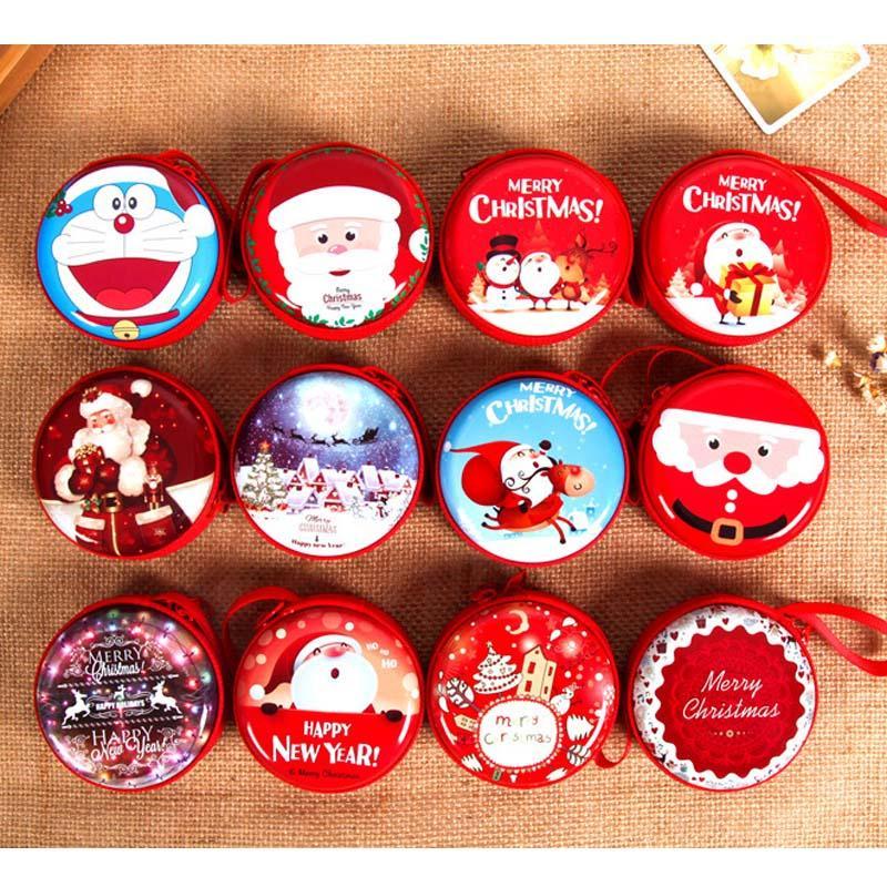Porte-monnaie Noël pendentif en baisse Ornements filles Arbre de Noël clés Cas vieil homme Pendentif série de cadeau de Noël