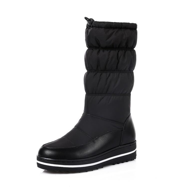 Hot2019 Kapak Can 40-44 Snowfield Çizmeler Uzay Pamuk-yastıklı Ayakkabılar Anne Ayakkabı Kış Hx-93