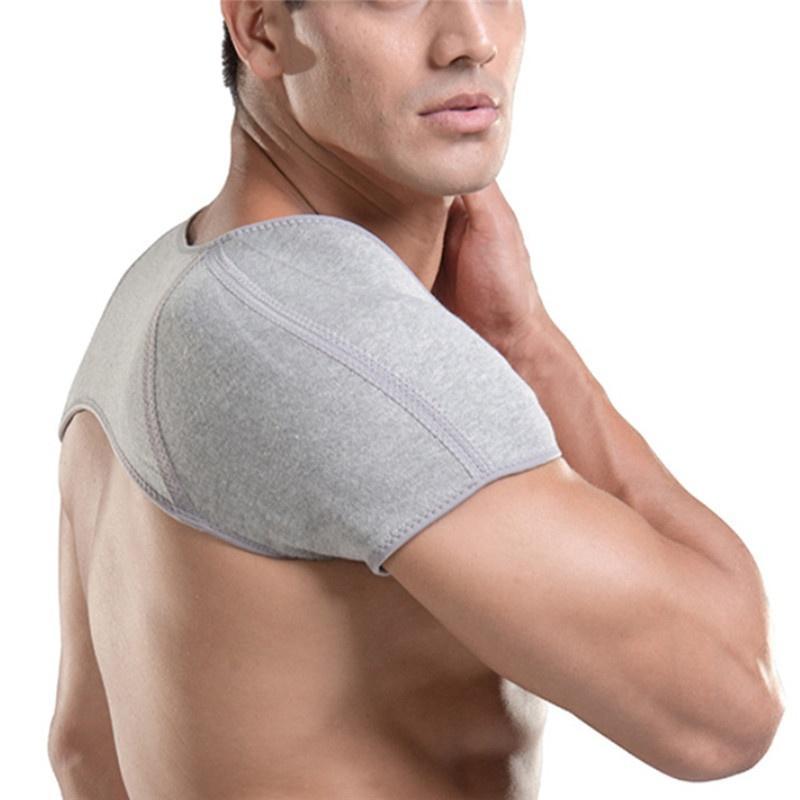 1pcs trasera de la ayuda corrector de la postura del pecho Brace Hombro cálido poliéster Promover la circulación de la sangre del hombro Soporte Padsfz