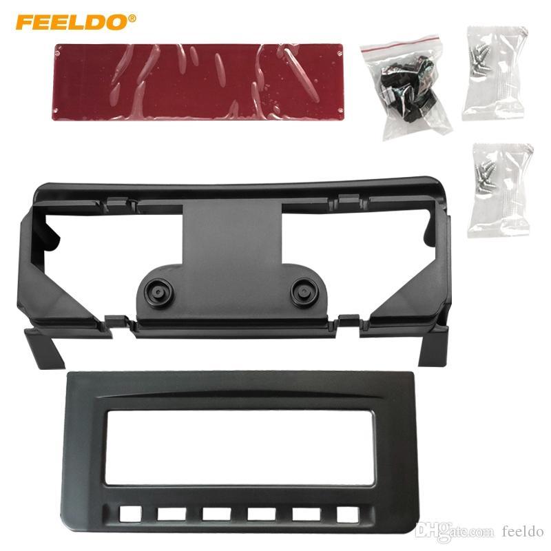 Feeldo Car Audio Radio Dash Fash Fassia Frame for Misubishi L200 Triton Pajero Pajero Sport II Challenger Estéreo Marco Instalación Kit de ajuste # 5079