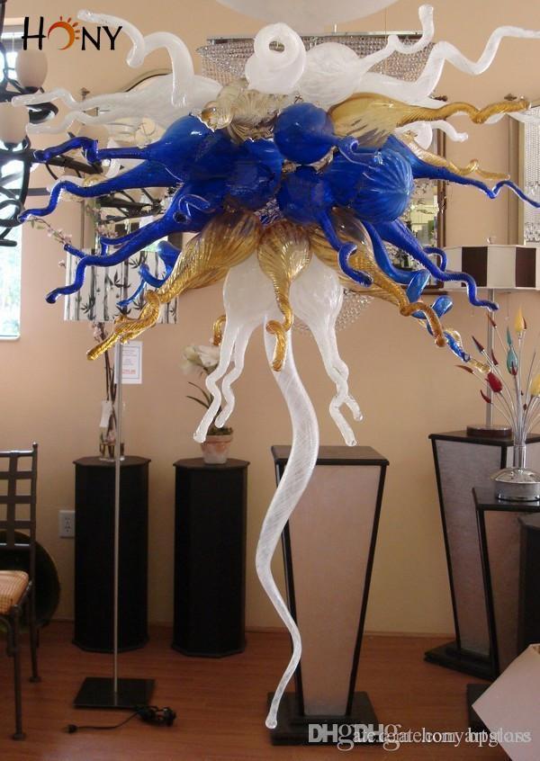 Free Shipping 110v/120v/220v/240v CE/UL Certificate Modern Style Murano Glass Dining Pendant Light