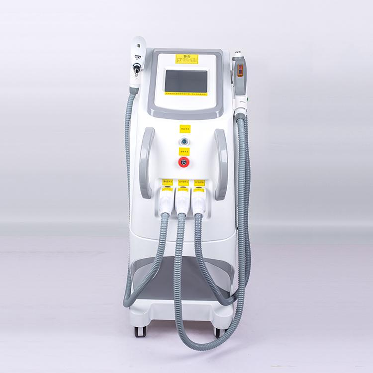OPT SHR IPL Laser Machine Nd Yag Laser Hair Removal Tattoo Freckle Removal Elight Skin Rejuvenation Multifunctional Beauty Equipment