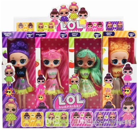 9'5 Inç Giysi Renk Değiştirebilirsiniz PVC Kawaii Güzel Çocuk Oyuncakları Anime Aksiyon Figürleri Gerçekçi Reborn Bebekler Hediye 4 Stilleri 4 adet / kutu