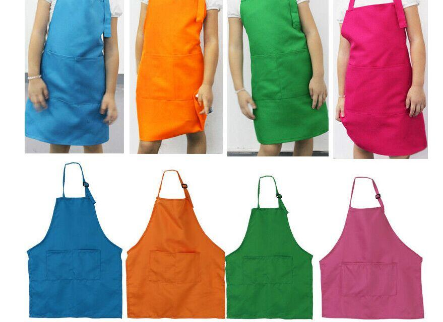 Hot girls in apron 51x49cm Children Front Pocket Bib Apron Kid Boys Girls Apron Kitchen Child Craft Hot Sale Toddler Clean Aprons From Rexbaby 1 86 Dhgate Com