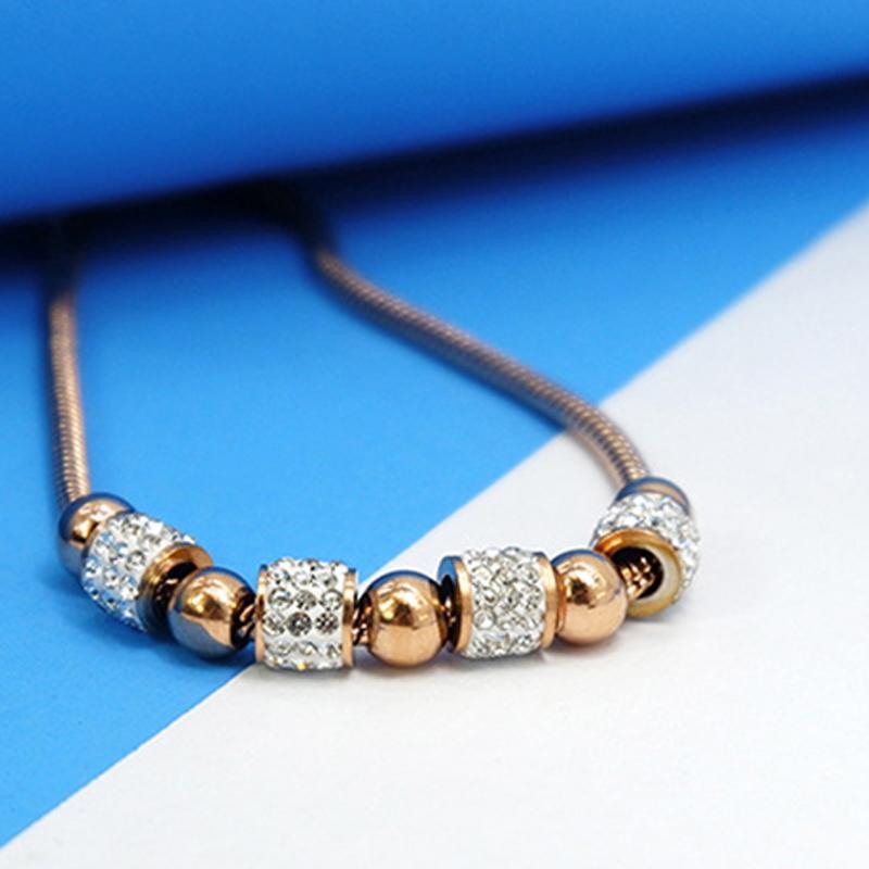 pulseira ajustável amizade ouro pulseira de corda para as mulheres senhoras de aço inoxidável para pulseiras jóias acessórios femininos de ouro