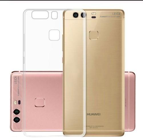Incredibile Huawei P8 Lite 2016 Custodia Ultra Sottile Trasparente Trasparente In TPU Custodia Cover In Silicone Funda Huawei P9 Lite Da ...