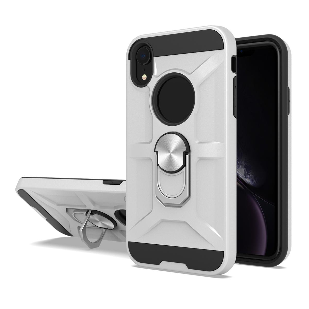 For LG V20 X5 LV3 LV1 G6 G4 X165 V10 K7 K10 K520 360°Rotation Metal Ring Shockproof Protection Magnetic PC TPU Armor Phone Case Cover