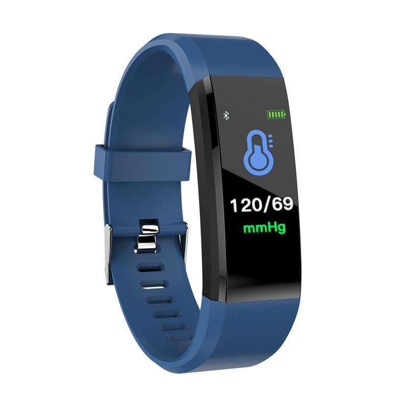 Id115 Plus Color Screen Smart Bracelet Sports Pedometer Watch Fitness Running Walking Tracker Heart Rate Pedometer Smart Band Back To Search Resultssports & Entertainment Fitness Equipments