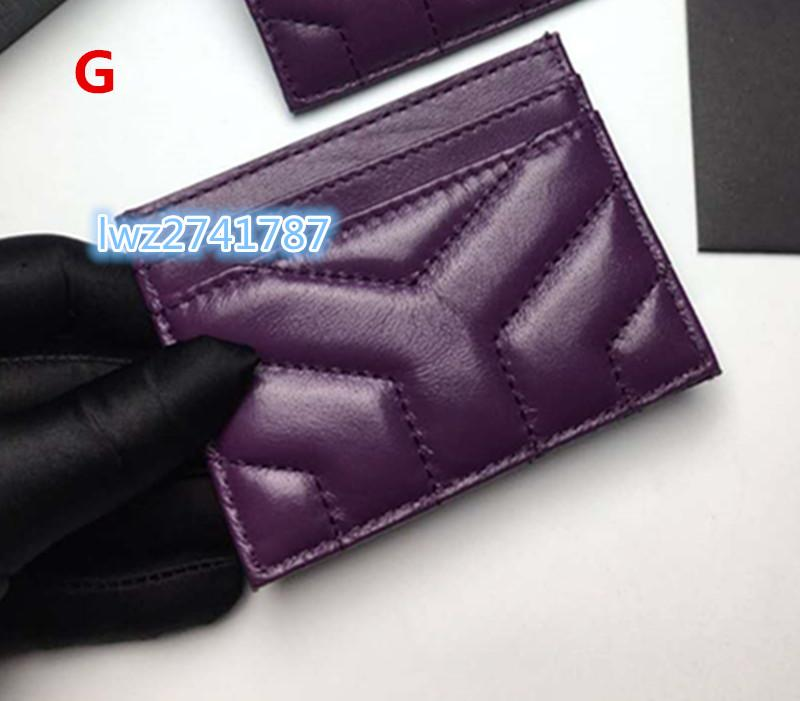 new fashion made in real sheepskin wallet card holder for unisex women men credit card bag with box excellent quality