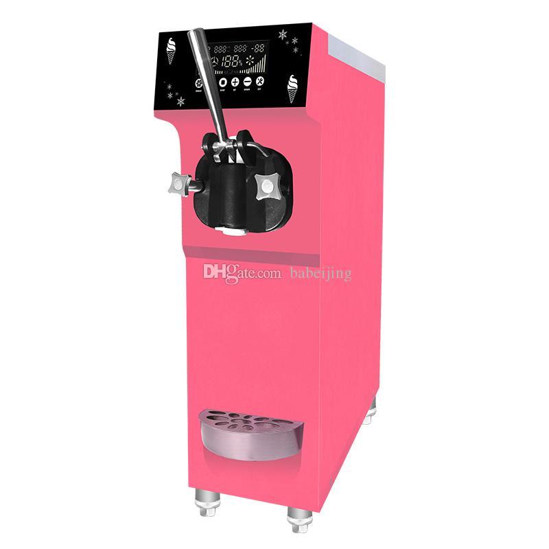 La nouvelle machine de la machine à crème glacée molle modèle avec une saveur 12 L / H Capacité 900W