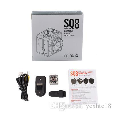 SQ8 Mini Kamera SQ 8 HD 1080P Kaydedici HD DV Hareket Sensörü Gece Görüş Mikro kamera Spor DV Kablosuz Kamera Kaydedici PK SQ11 SQ6