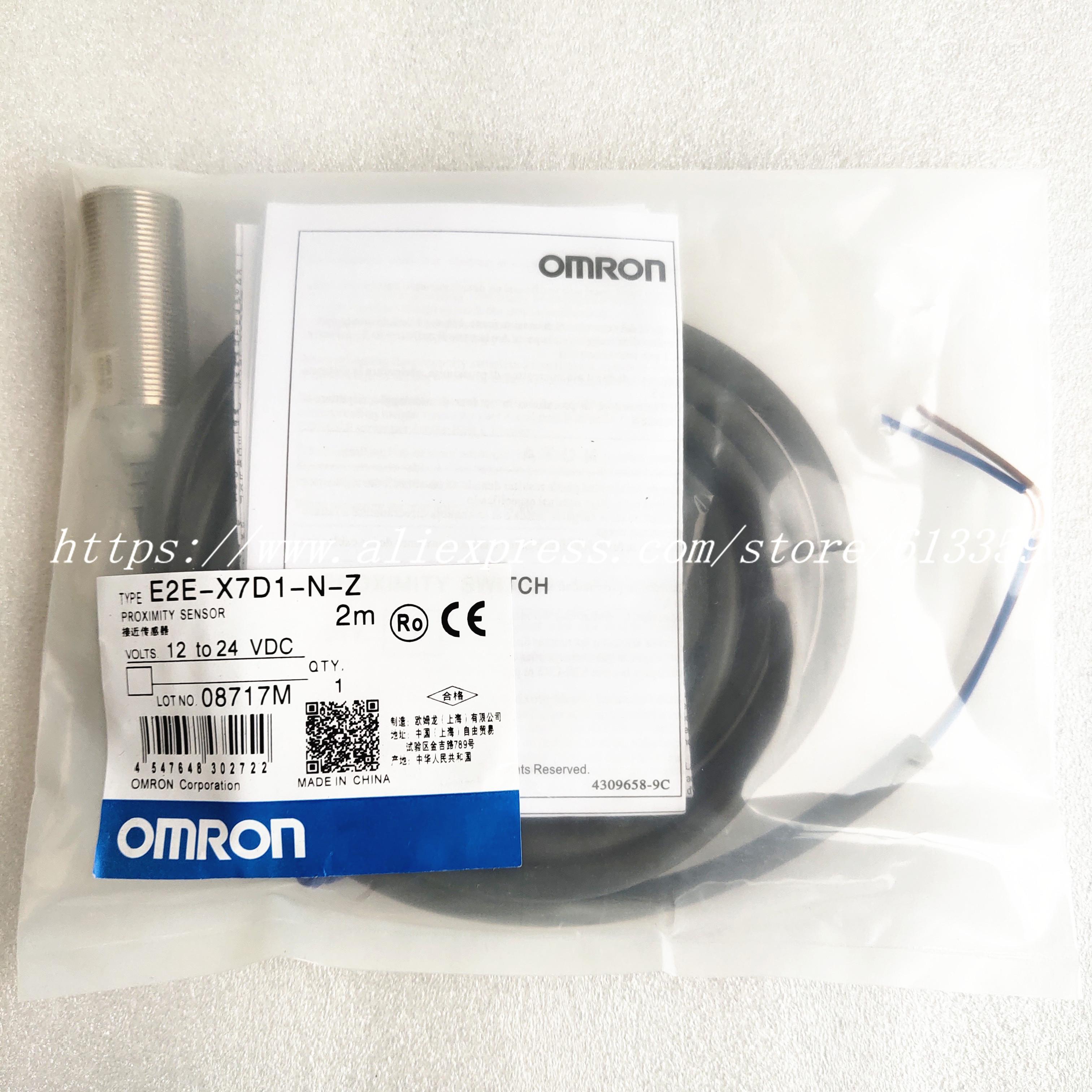 New OMRON E2E-X3D1-N-Z Proximity Switch *S#