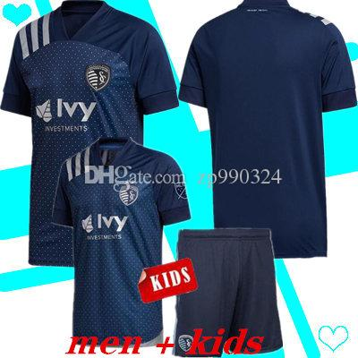 2020 Sporting Kansas City KIDS Futebol MLS PULIDO 9 BUSIO 13 RUSSELL 7 GERSO 12 TIPO 15 20 21 camisetas camisa de futebol