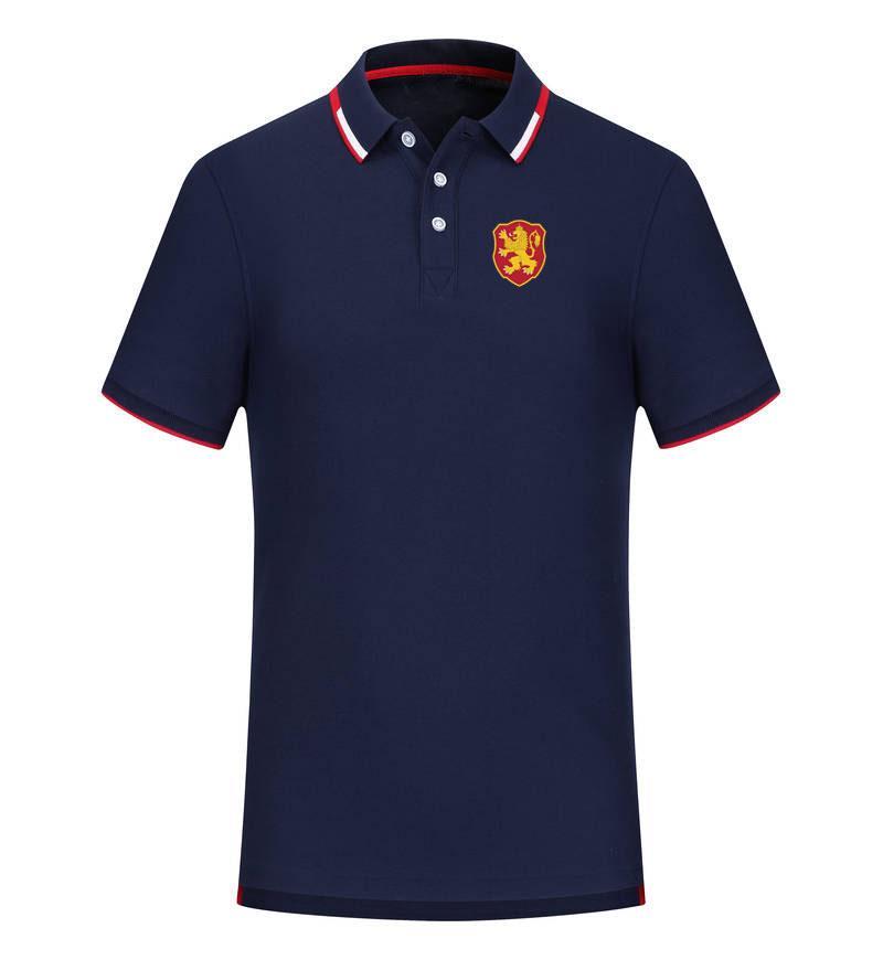 болгария 2020 весной и летом новый хлопок футбол рубашка поло мужская с коротким рукавом отворот поло может быть DIY обычай мужской рубашки тройников