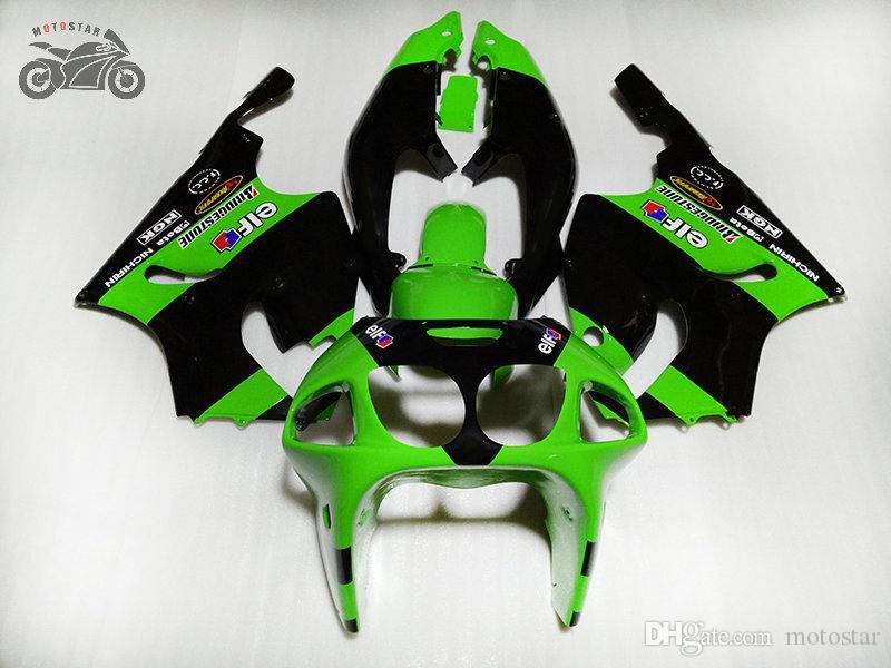 Бесплатный пользовательский китайский комплект обтекателя для Kawasaki Ninja ZX7R 1996-2003 гг. ZX-7R 96 97 98 99 00 03 ABS Пластиковые стойки мотоциклов Кузов