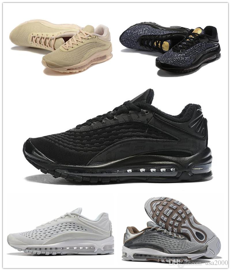 2019 AIR DELUXE SE кроссовки man wome max DELUXE SE Спортивные кроссовки на открытом воздухе sport air 2019 run кроссовки размер 36-46 большой размер