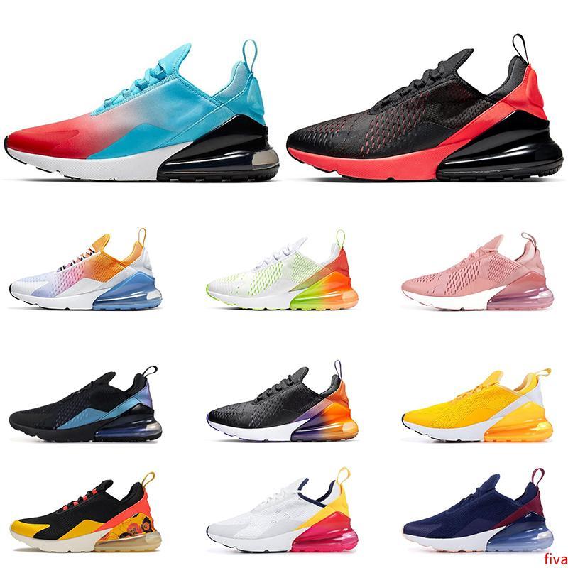 2020 running shoes for men Black Gradient Rainbow Volt Orange Triple Black white University Red womens sports sneaker trainers size 36-45