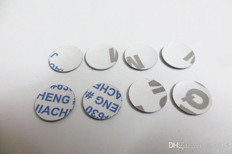 50pcs / lot 3D 10 mm 11 mm 12 mm cristal logo voiture bouton clé Emblem Sticker pour Volkswagen VW Skoda pour Audi BMW M Clés de pliage