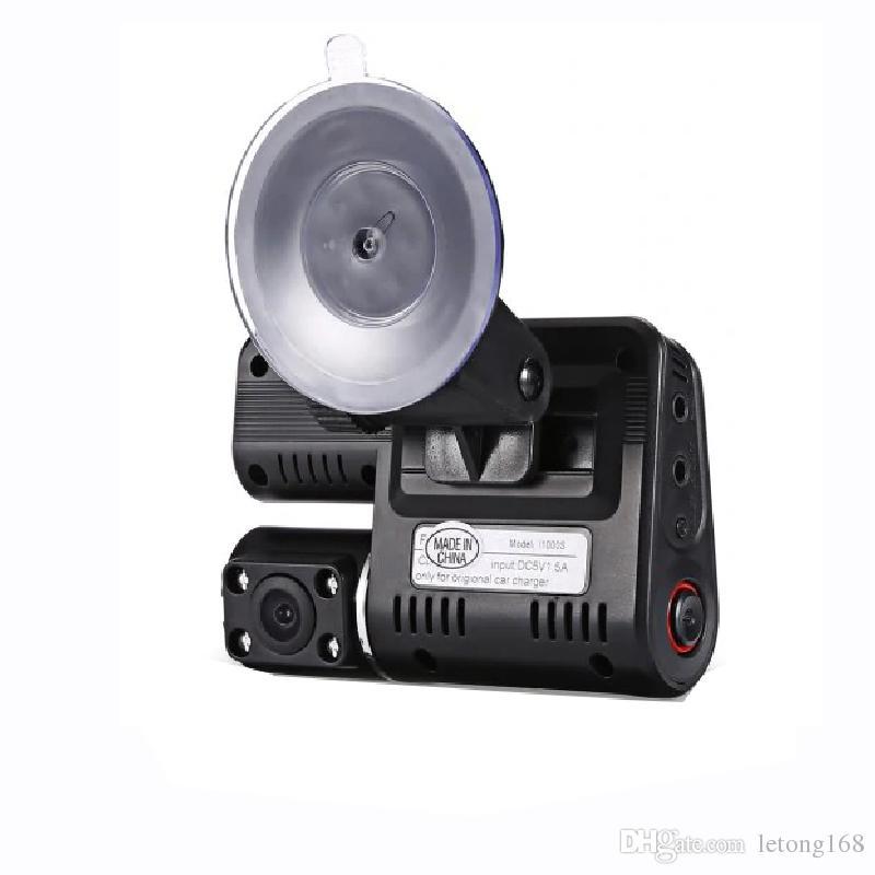 1PC 1080P DVD سيارة مع كاميرا أمامية وخلفية سوداء