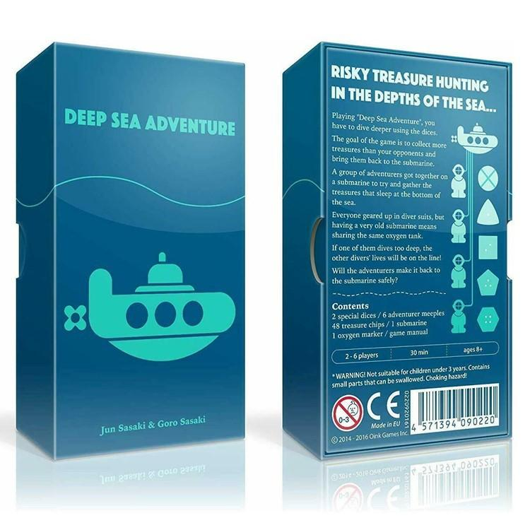 Deep Sea Adventure Board Game 2 6 Players Family Best Gift For Children Funny English Game Solitaires Online Free Patience Game From Huang527186392 14 08 Dhgate Com