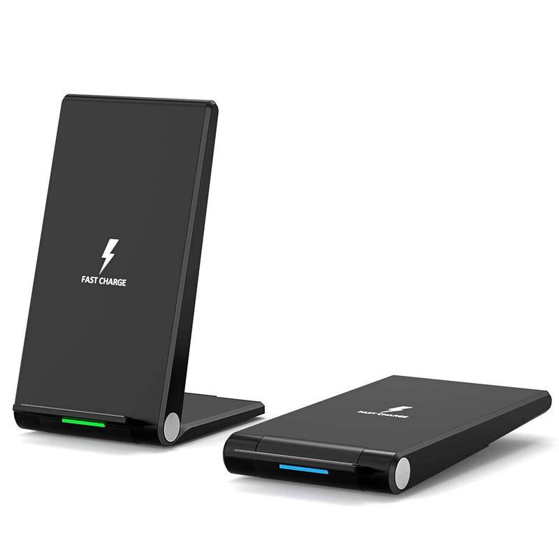 15W Qi Wireless-Ladegerät Schnellladestation für Iphone 8 Plus X Xs 11Pro Max Samsung Huawei Handy-Halter Dock Klappständer