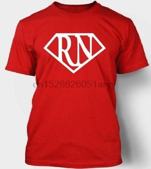 RN Tişörtlü Tee Paramedik EMS küçük 2XL mevcut% 100 Pamuk Erkekler Kadınlar Tişört Tees Harf Baskı