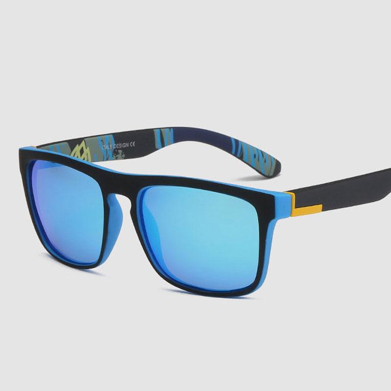 Lunettes de soleil de luxe-polarisées Hommes Femmes Square Driving lunettes de soleil polarisées Brand Design 2018 Unisex Eyewear UV400.