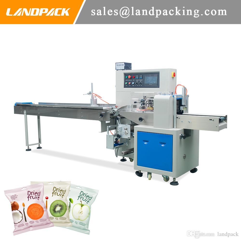 Preços de saco de travesseiro de frutas secas máquina de embalagem horizontal automática máquina de embalagem de alimentos