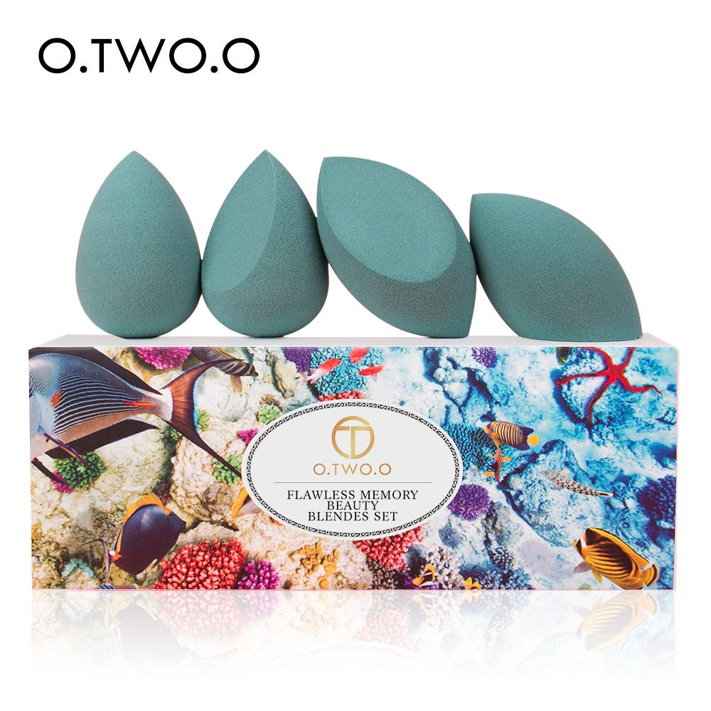 O.TWO.O Makeup Sponge Water Drop Gourd Make up Puff Cosmetics Puff Blender Set Puf Hydrophilic Powder Foundation Sponge for Face