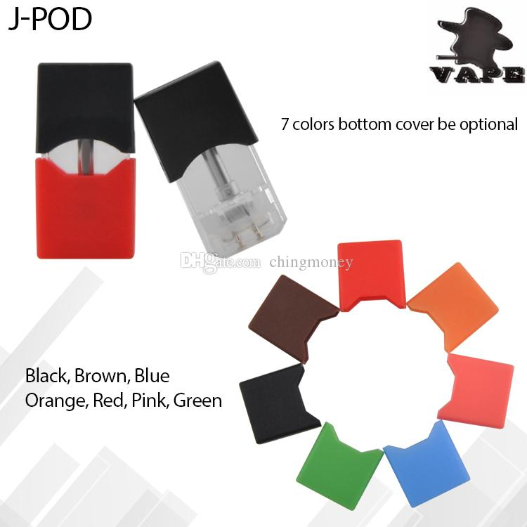 New Empty Vape Pod Cartridges Ceramic Atomizer J-PODS 0.4ML oil Cartridge compatible with xuul battery vape