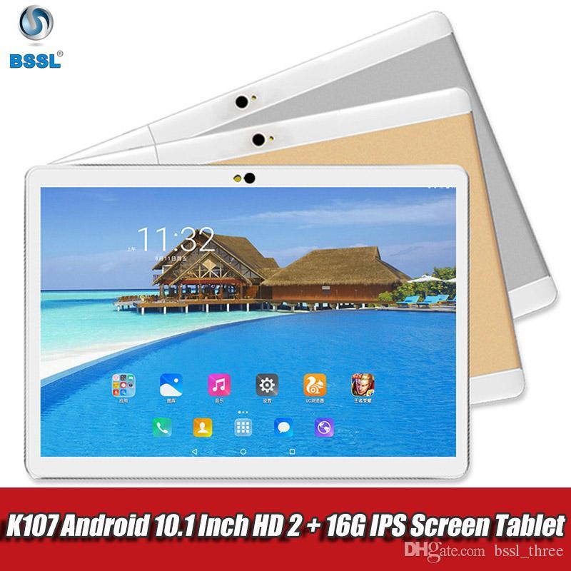 New Tablet Pc 10,1-Zoll-Android-Tablets 2GB + 16GB vier Kern 3G-LTE-Telefon-Anruf-IPS Computer WiFi GPS SIM-Dual-Kamera PC