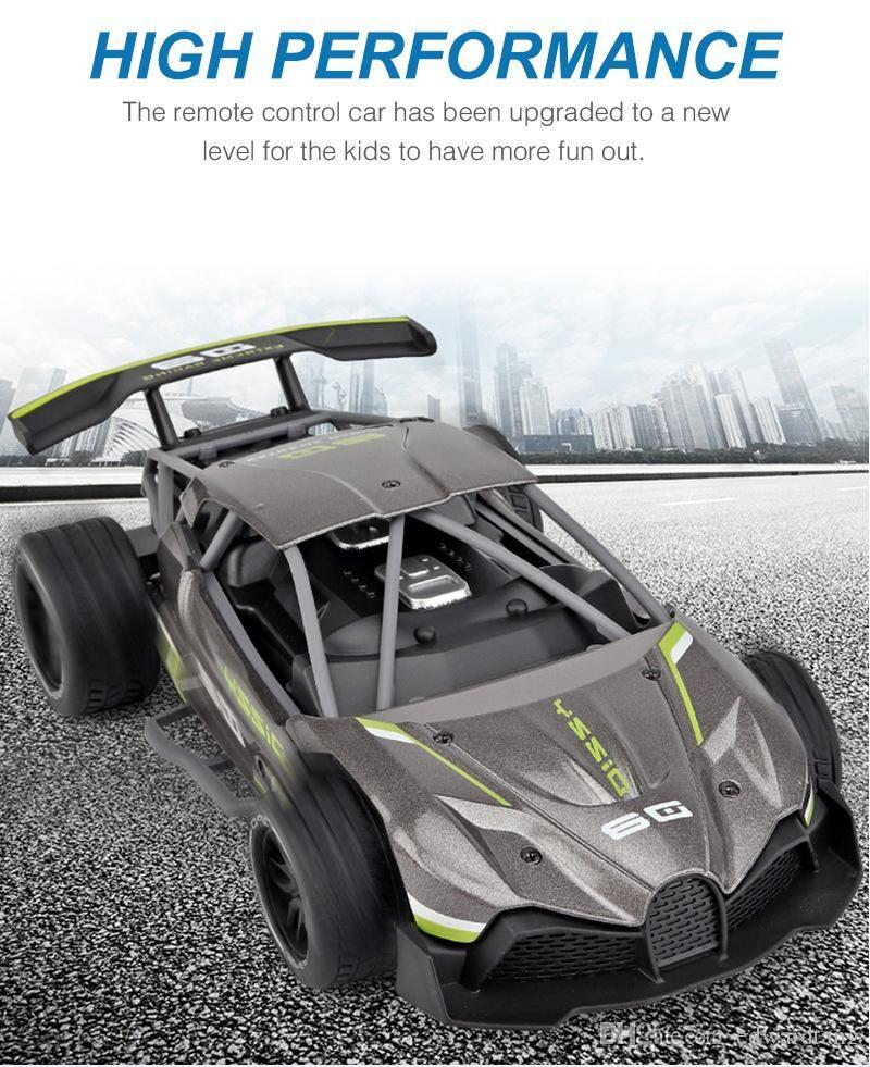 SL Diecast Alloy 2.4G RC Car Toy, Super High Speed 15 KM/H, 1:16 F1 Power Wheels, Cool Drift, Multiplayer Sport, Kid Birthday Xmas Gift, 2-2
