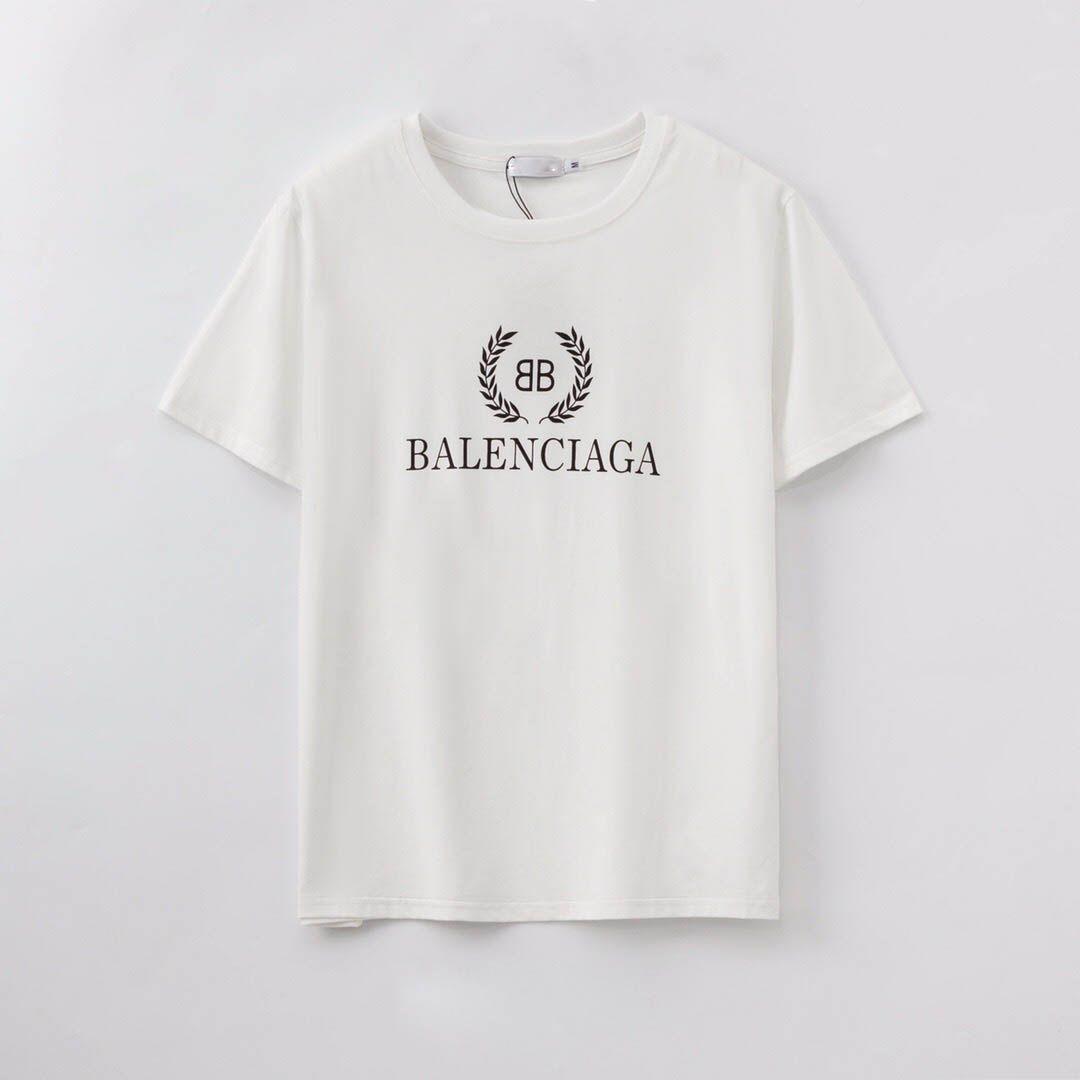 2020 verano o de cuello, de manga corta diseñador de ropa masculina camiseta de algodón camiseta impresa de los hombres