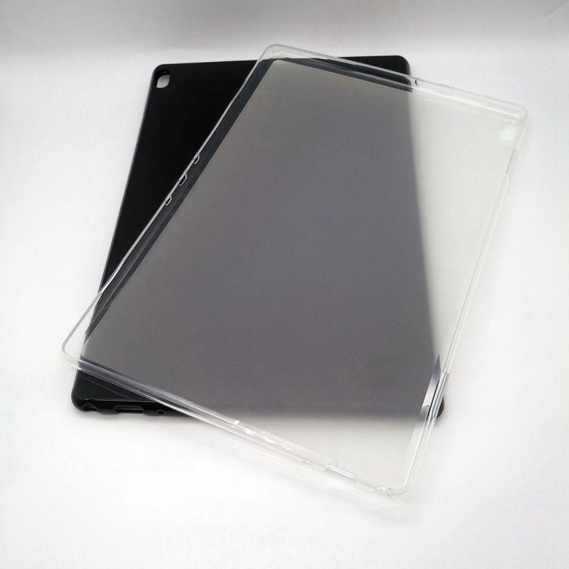 레노버 탭 E10 M10에 대한 50PCS 소프트 TPU 레노버 탭 P10 TB-X705F TB-X705L TB-X705M 태블릿에 대한 뒷 표지 케이스 10.1 인치되지 않음